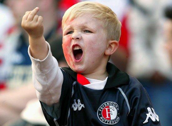 Fan inrait al Feyenoord