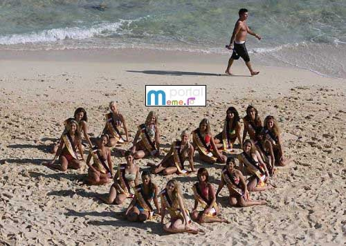 Poponar pe plaja
