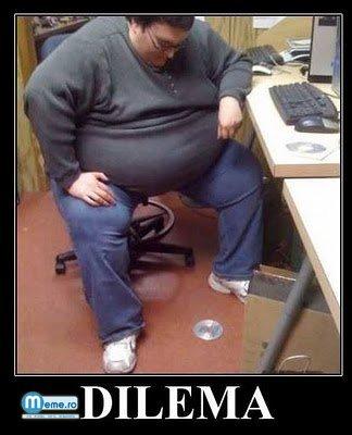 Dilema omului gras