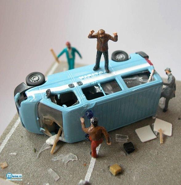 Violenta , accidente , crime , jafuri