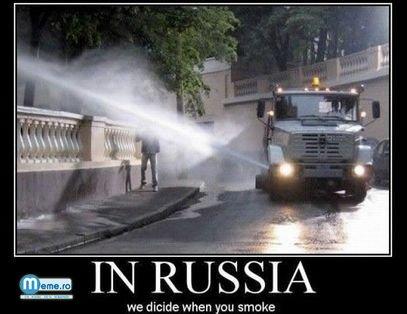 La rusi ei decid cand fumezi