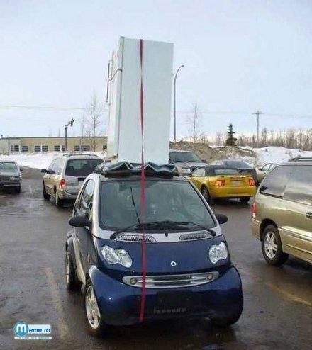Problema cu masinile mici