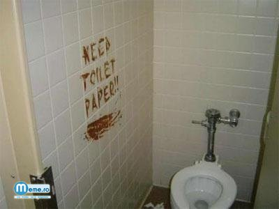 Toaleta fara hartie