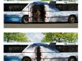 Autobuz cu design misto