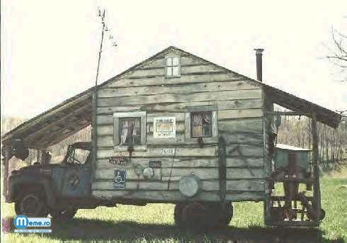 Casa pe roti
