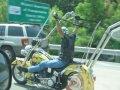 Motocicleta greu de condus