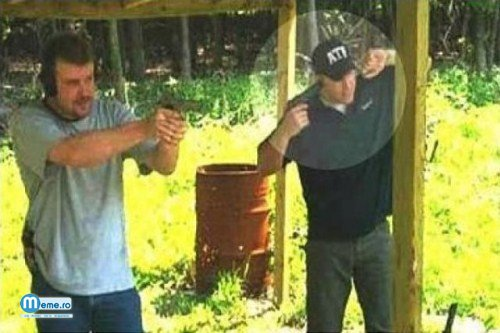 Nu trage - Pistol test