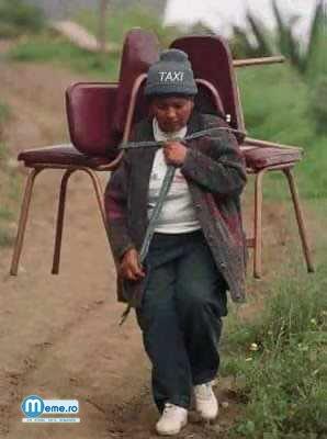 Taxi lumea a treia