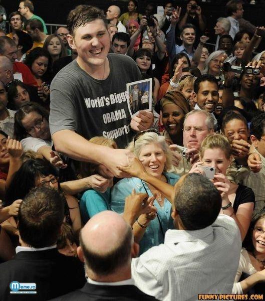 Cel mai mare suporter al lui Obama