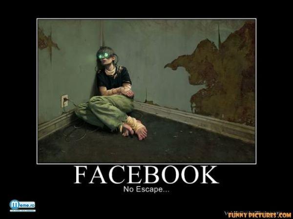 Nu poti scapa de facebook