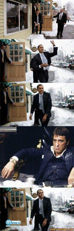 Obama si Godfather
