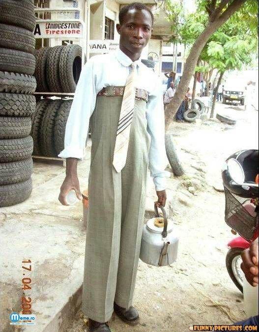 Pantaloni mari
