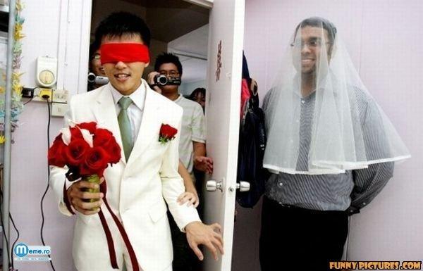 Surpriza la nunta
