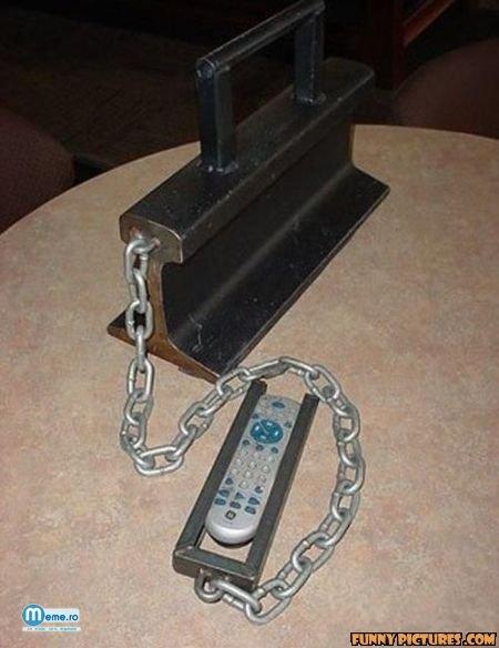 Telecomanda bine pazita
