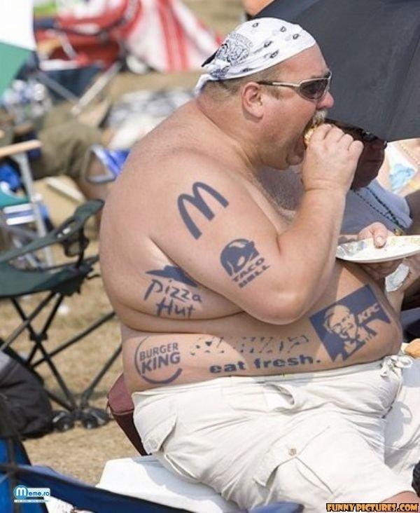Cel mai tare fan al fast food-urilor