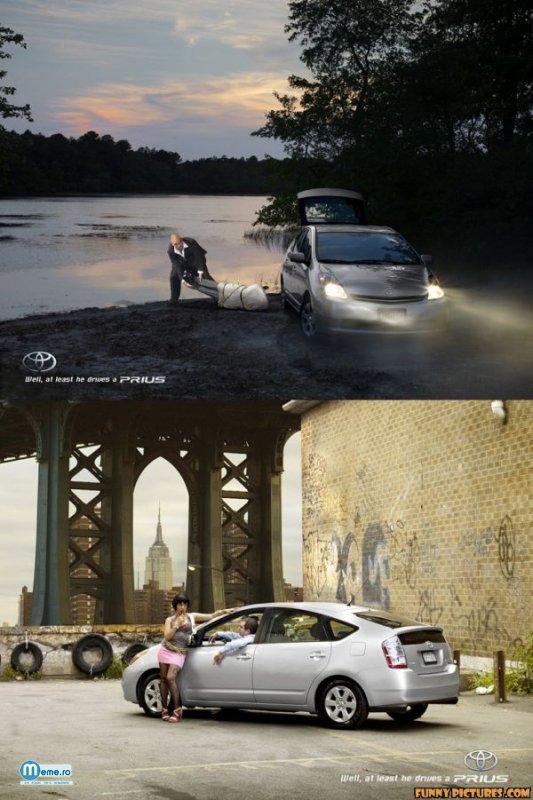 Macar conduce un Prius