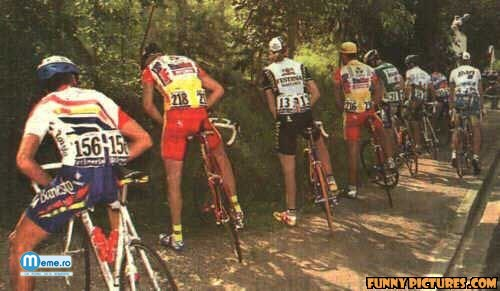 Olimpiada de pipi si bicicleta