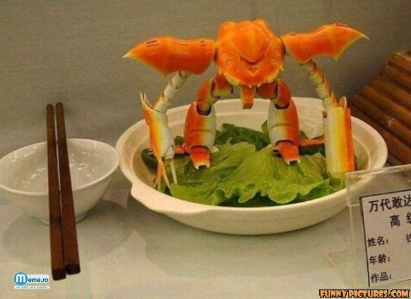 Un crab cu care nu vrei sa te pui :))