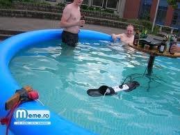 Cretini in piscina
