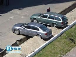 Tre sa te gandesti de doua ori inainte sa parchezi