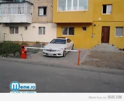 Cea mai tare parcare privata :))