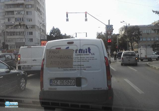Semnalizare de Romania